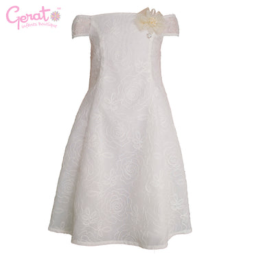 Vestido Blanco Junior color blanco