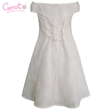 Vestido Gerat para niña Blanco Junior color blanco