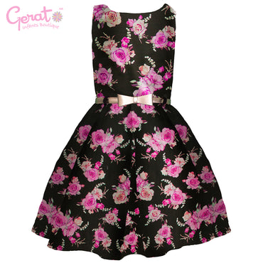 Vestido Gerat de Fiesta Junior color Negro