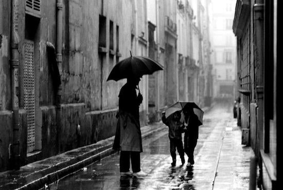 Rainy Afternoon, Paris, France