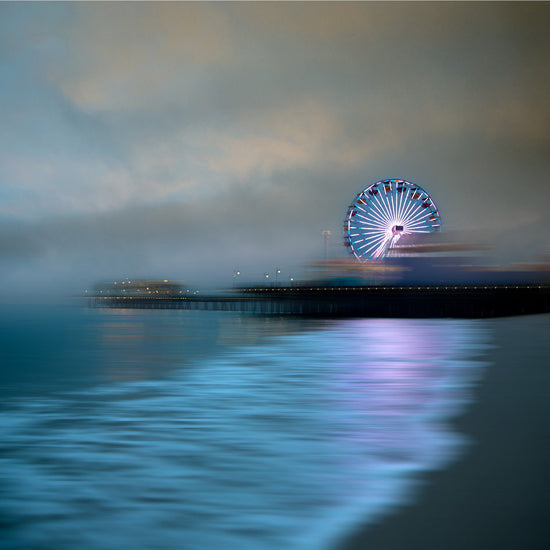 Santa Monica Pier, Gray Morning