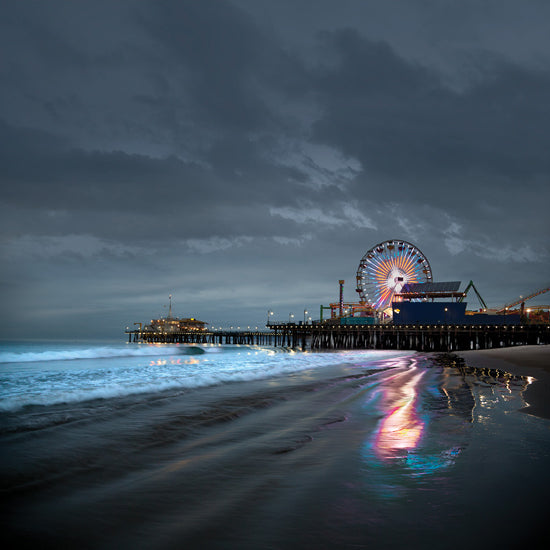 Santa Monica Pier, Low Tide