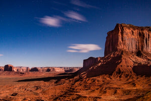 Starlit Monument Valley
