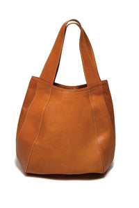 Jessica Large Natural Saddle Leather