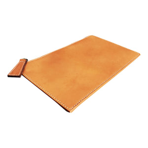 Back Case Natural Saddle Leather