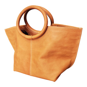 Berthica Natural Saddle Leather