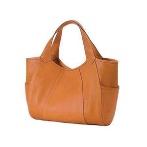 TOM HORN COLLECTION MICHELLE NATURAL SADDLE LEATHER