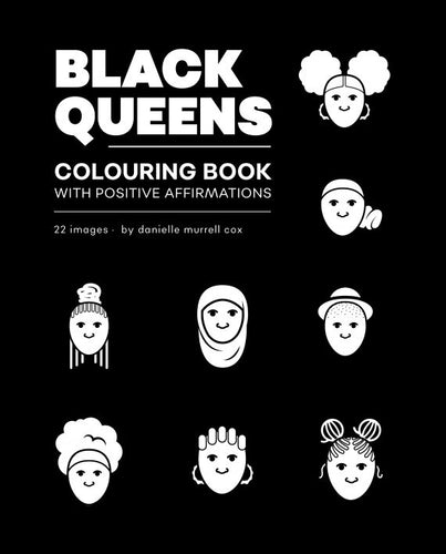 Black Queens Coloring Books