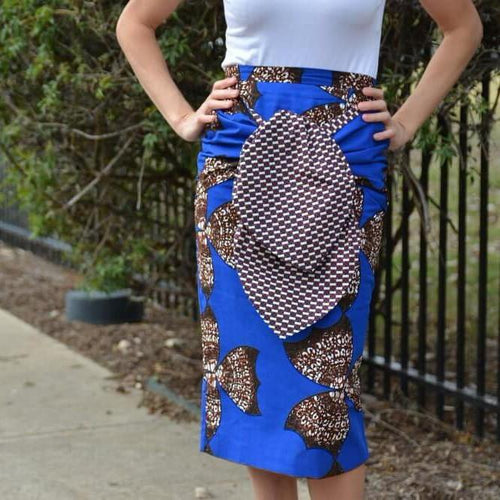 Taye  Pencil Midi Skirt