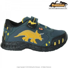 Dinosoles Blue DinoFit Low Top Triceratops Shoes (CLEARANCE)