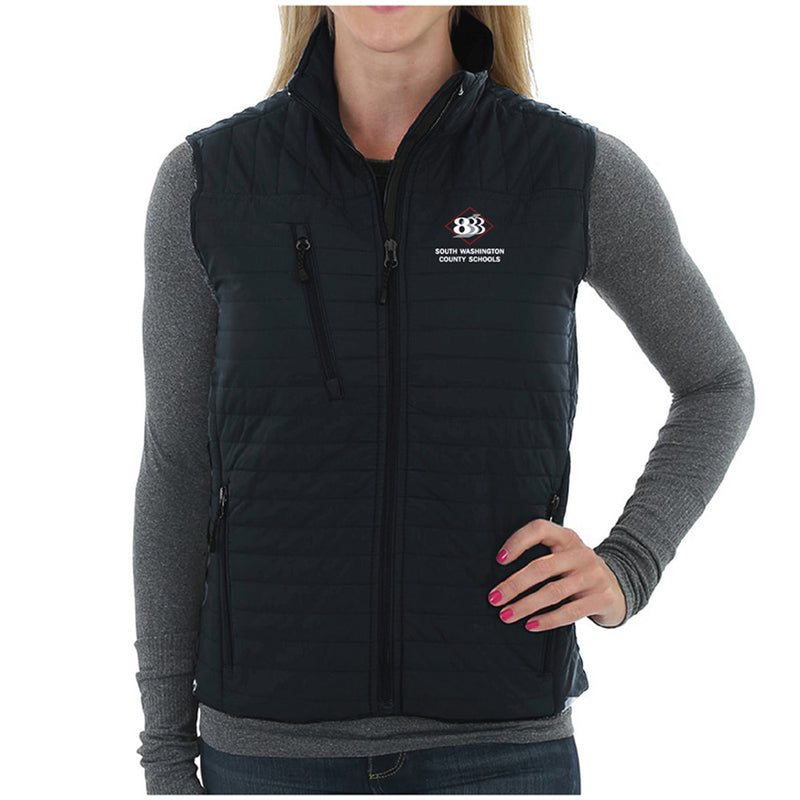 "833 - STORM CREEK WOMEN'S ""KATRINA"" QUILTED THERMOLITE® VEST-Outerwear-Advanced Sportswear"