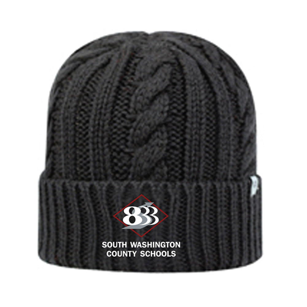 833 - J-AMERICA EMPIRE KNIT HAT-Headwear-Advanced Sportswear