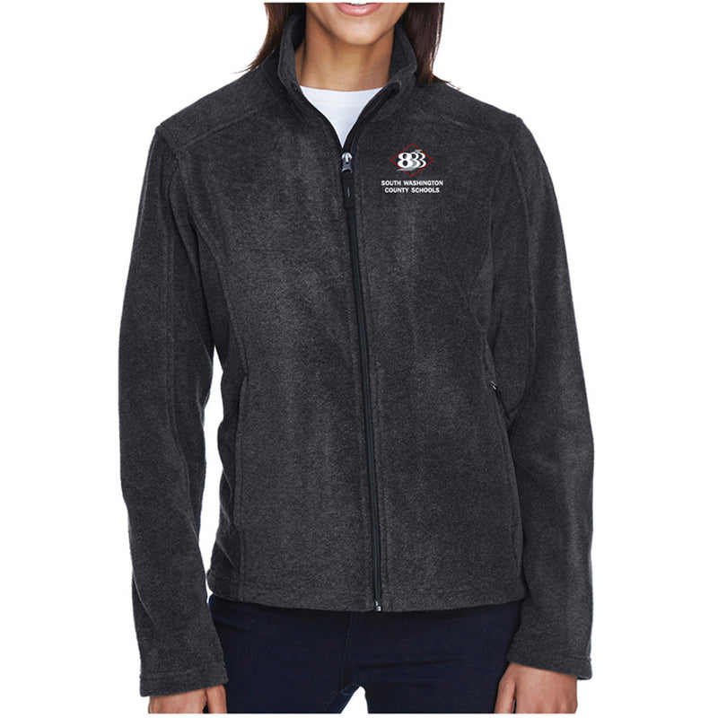 833 - Ash City - Core 365 Ladies' Journey Fleece Jacket-Ladies-Advanced Sportswear