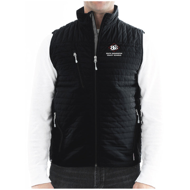 "833 - STORM CREEK MEN'S ""KASPER"" QUILTED THERMOLITE® VEST-Outerwear-Advanced Sportswear"