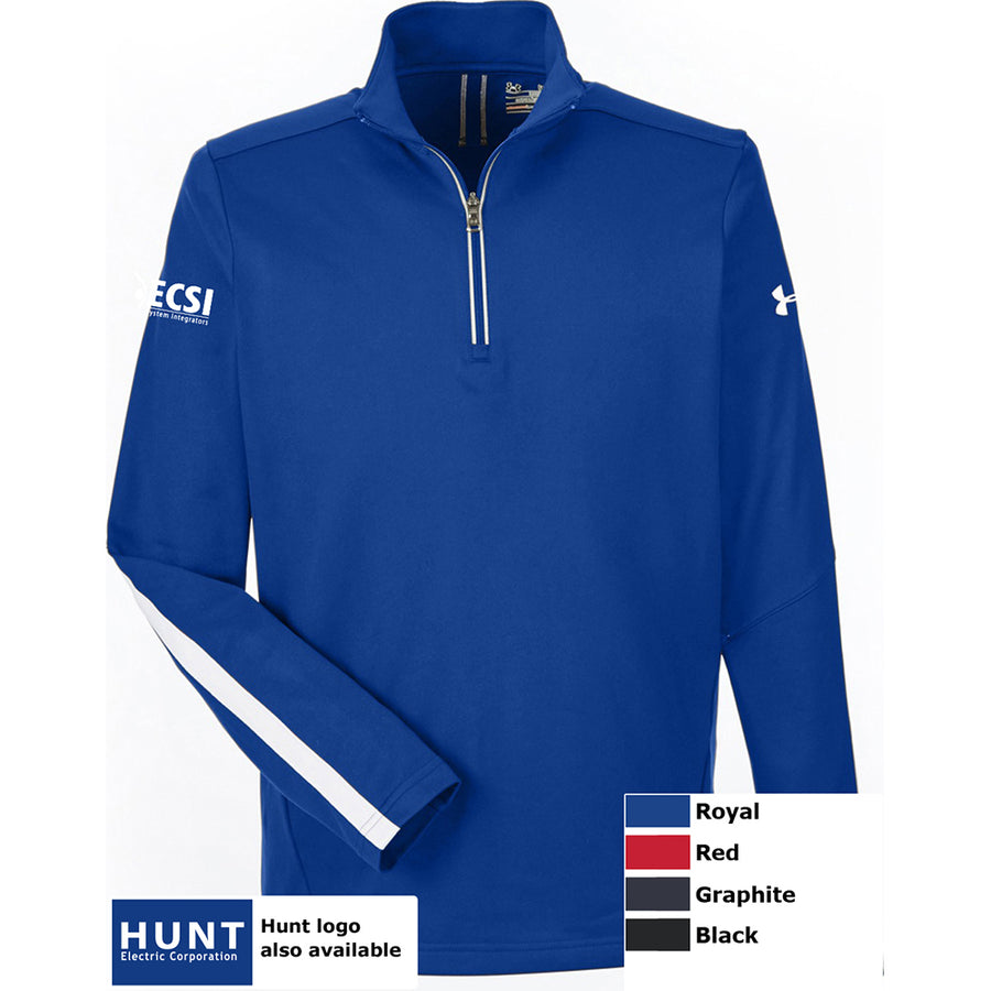 UA MENS QUALIFIER 1/4 ZIP - Advanced Sportswear Inc, - Newport, MN
