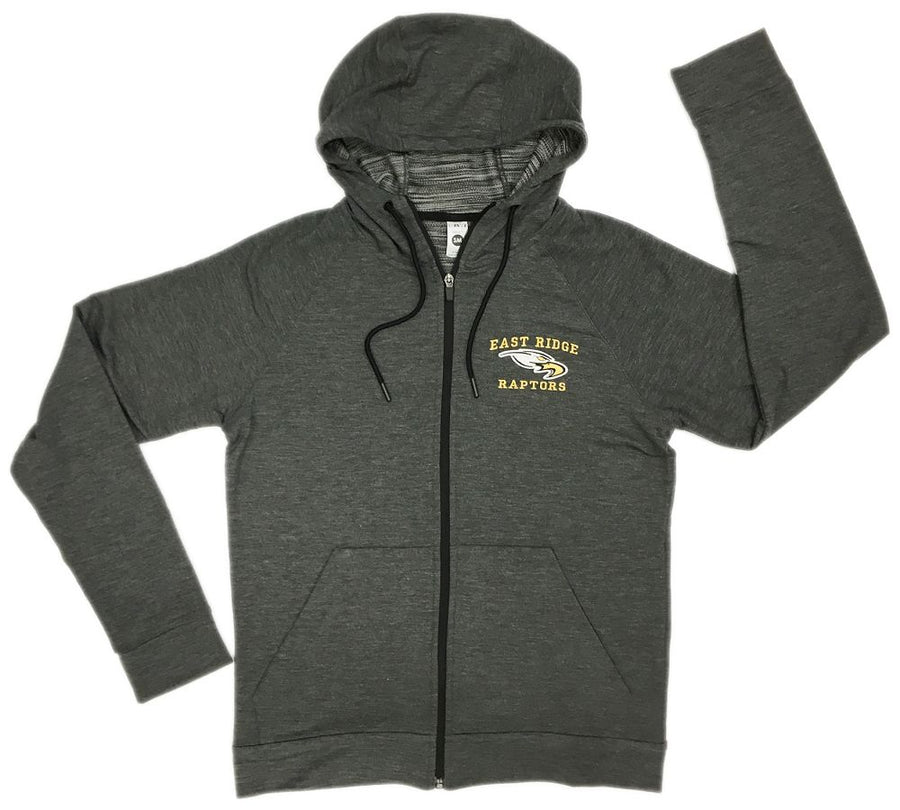 ER TRI-BLEND FULL ZIP HOODIE - Advanced Sportswear Inc, - Newport, MN