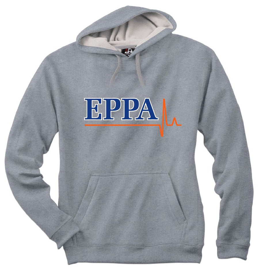 EPPA - BAW POLY HOODIE - HEATHER GREY - Advanced Sportswear Inc, - Newport, MN