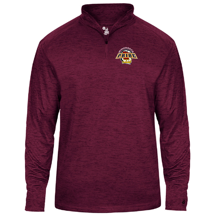 MN PRIDE MENS TONAL BLEND 1/4 ZIP - Advanced Sportswear Inc, - Newport, MN