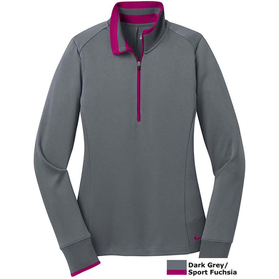 NIKE LADIES DRIFIT 1/2 ZIP - Advanced Sportswear Inc, - Newport, MN