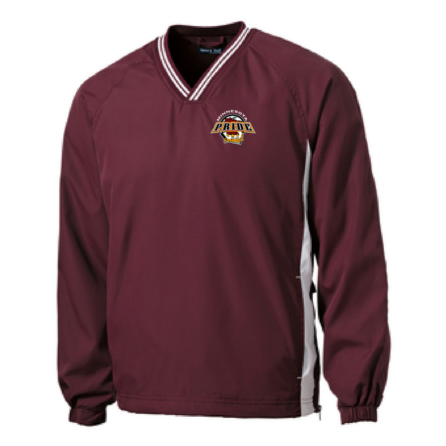 MN PRIDE V-NECK RAGLAN WINDSHIRT - Advanced Sportswear Inc, - Newport, MN