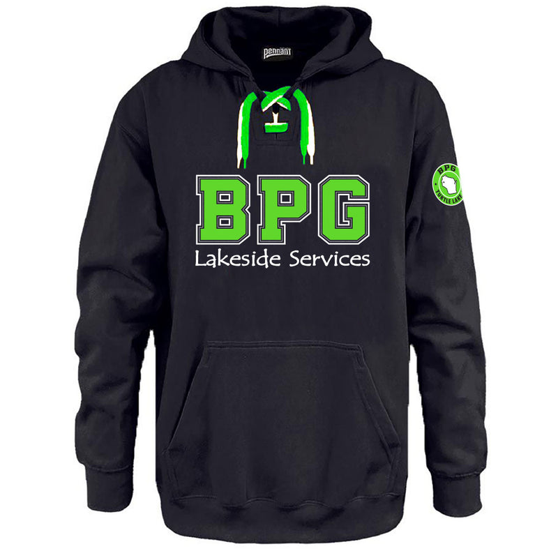 BPG PENNANT FACEOFF HOODIE-Hoodies-Advanced Sportswear