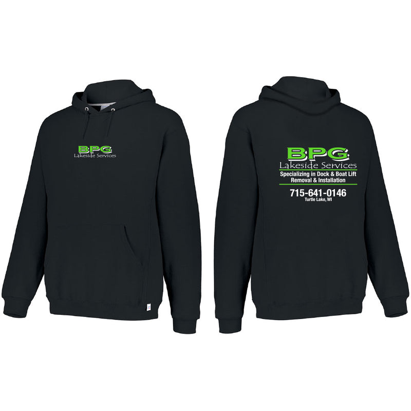 BPG RUSSELL DRI POWER FLEECE HOODIE-Hoodies-Advanced Sportswear
