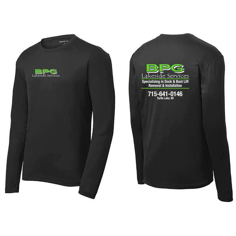 BPG Sport-Tek® Long Sleeve PosiCharge® Competitor™ Tee-Long Sleeve-Advanced Sportswear