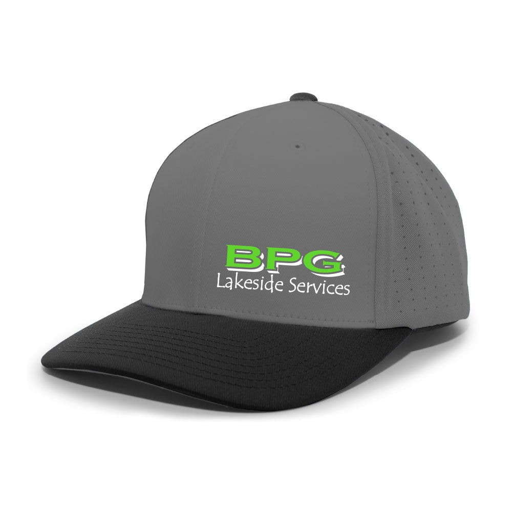 BPG PACIFIC HEADWEAR PERFORATED F3 PERFORMANCE FLEXFIT® CAP (2 colors avail)-Headwear-Advanced Sportswear