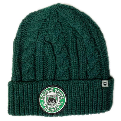CGH EMPIRE KNIT BEANIE W/CG HOCKEY PATCH-Hats-Advanced Sportswear