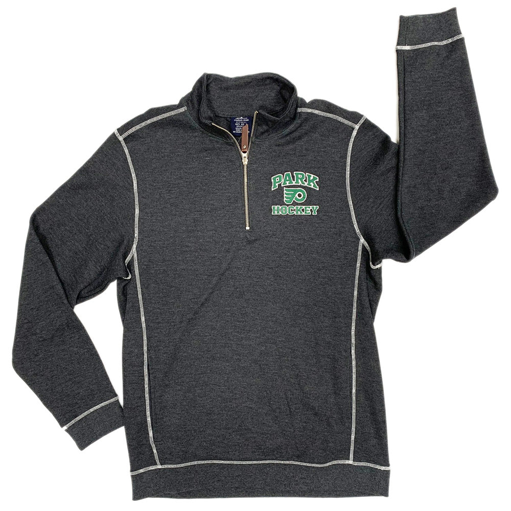PARK HOCKEY - MENS CONWAY RIB P/O-1/4 ZIP-Advanced Sportswear