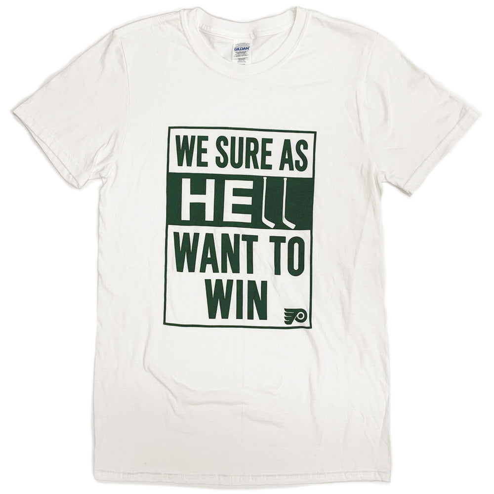 PARK HOCKEY WE SURE AS HELL WANT TO WIN T-TShirts-Advanced Sportswear