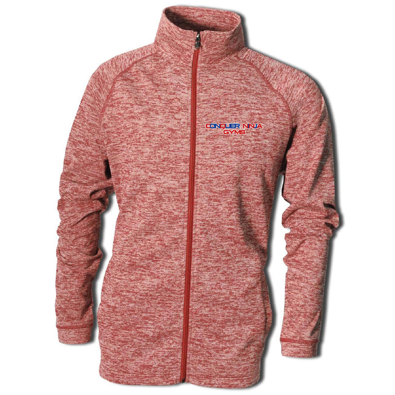 CNG Vintage Heather Full Zip-FULL ZIP-Advanced Sportswear