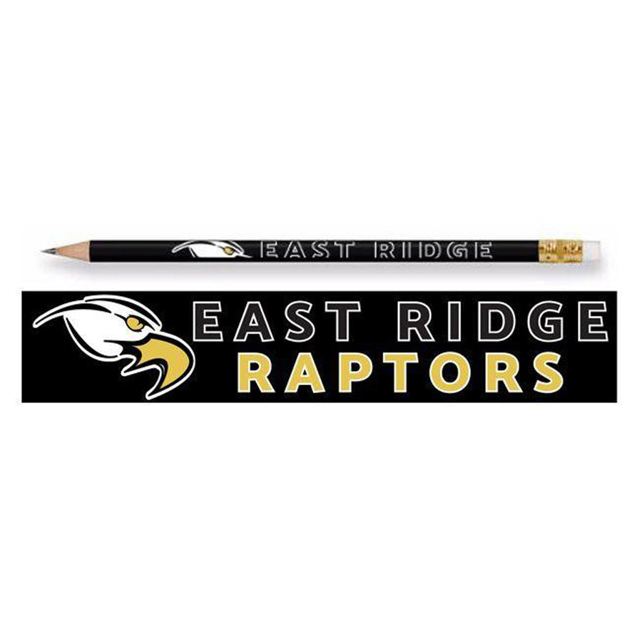 EAST RIDGE RAPTORS PENCILS BLACK - Advanced Sportswear Inc, - Newport, MN