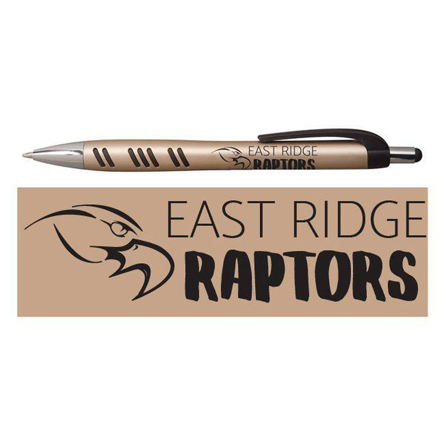 RAPTORS STYLUS PEN CHAMPAGNE - Advanced Sportswear Inc, - Newport, MN