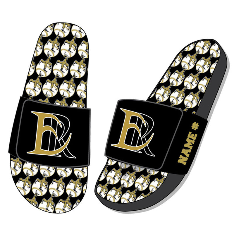ER BASEBALL ADJUSTABLE GRAPHIC SLIDE-Accessories-Advanced Sportswear