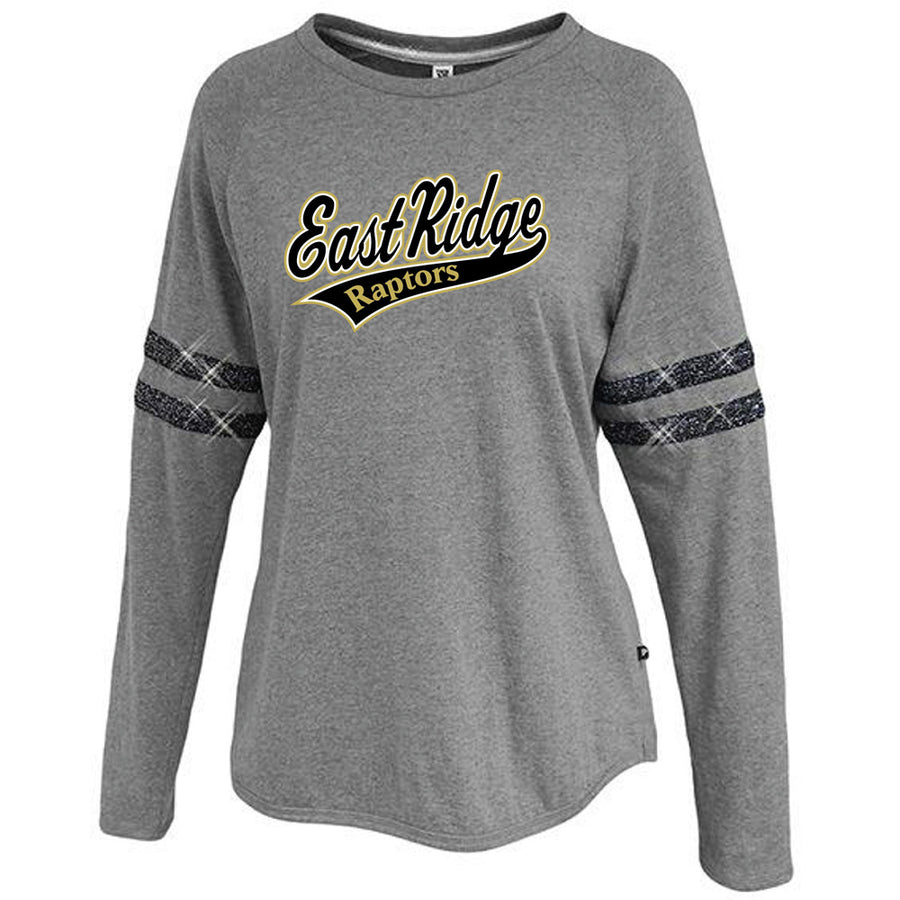 ERAABB Women's Sparkle Stripe Crew - Advanced Sportswear Inc, - Newport, MN