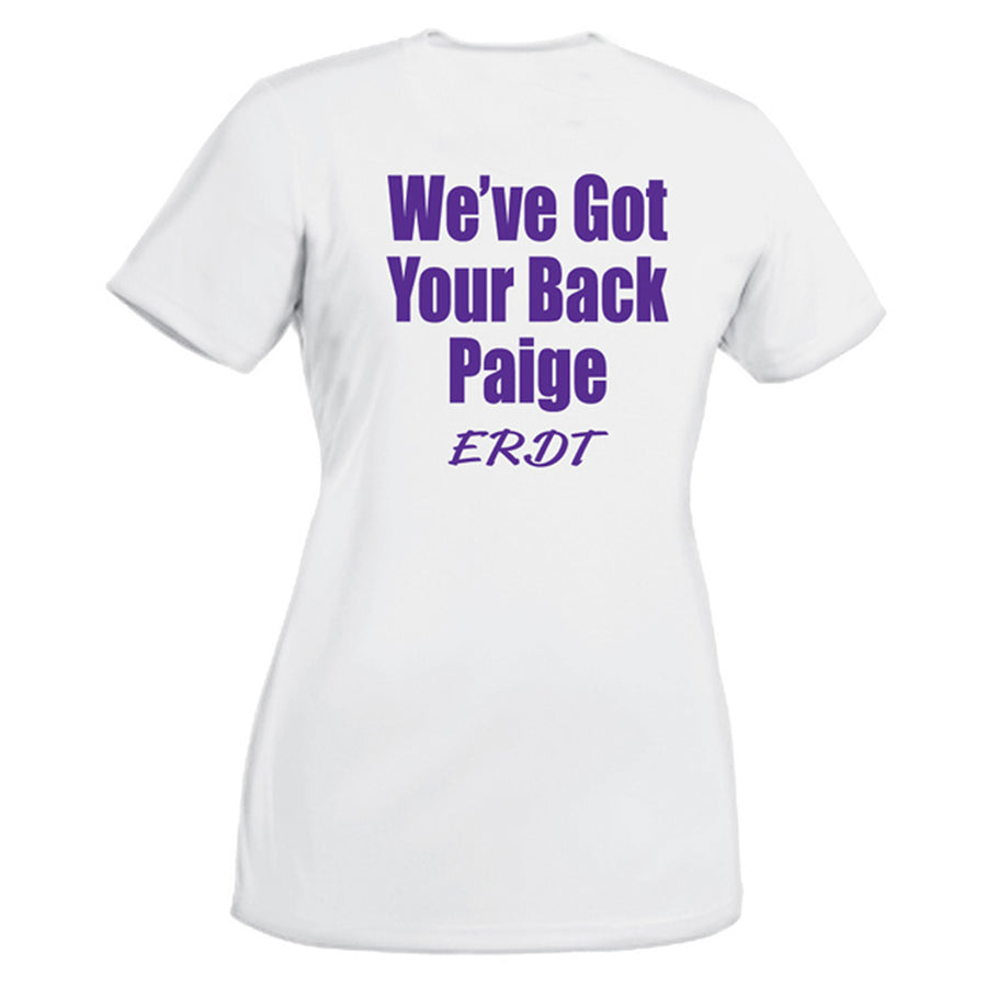ERDT - WE'VE GOT YOUR BACK T - LADIES CUT - Advanced Sportswear Inc, - Newport, MN