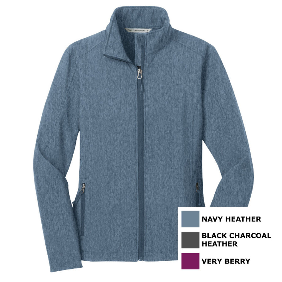 1a576a772 Port Authority Ladies Core Soft Shell Jacket - Advanced Sportswear Inc, -  Newport, MN