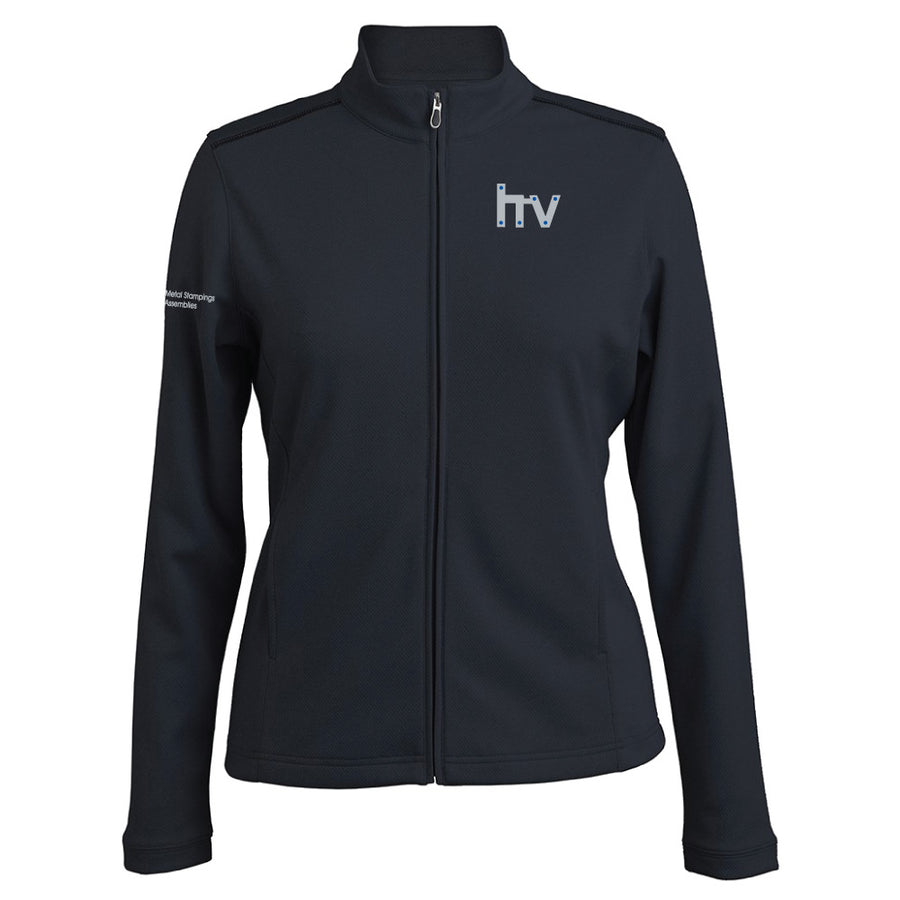 HV Pebble Beach Ladies Heathered Full Zip Jacket - Advanced Sportswear Inc, - Newport, MN