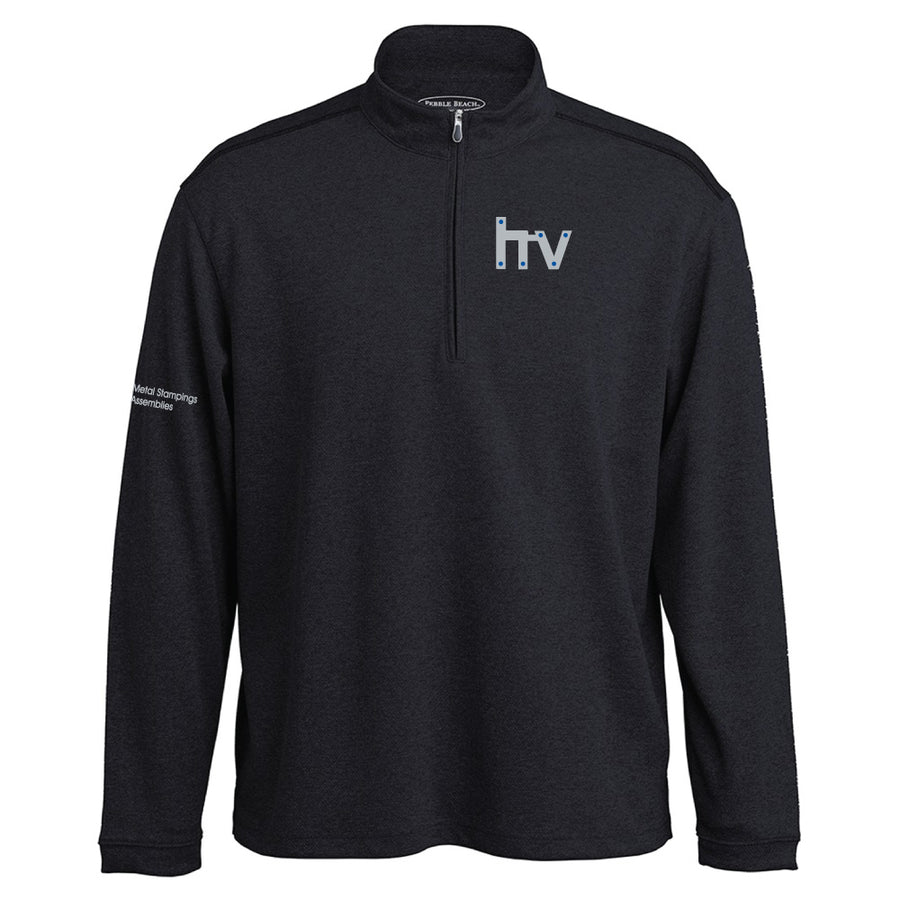 HV Pebble Beach Heathered 1/4 Zip Pullover - Advanced Sportswear Inc, - Newport, MN