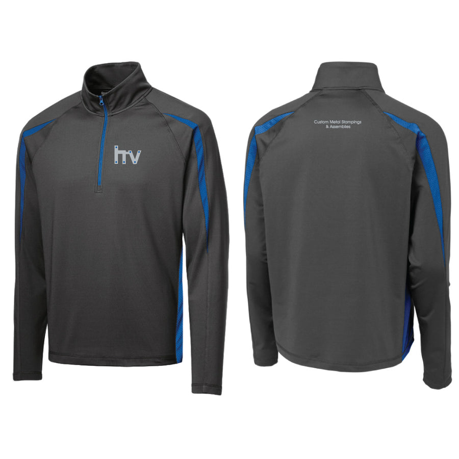 HV Sport-Tek Stretch Colorblock 1/2 Zip Pullover - Advanced Sportswear Inc, - Newport, MN