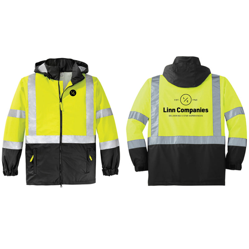 LINN MAINT - CornerStone® - ANSI 107 Class 3 Safety Windbreaker-Outerwear-Advanced Sportswear
