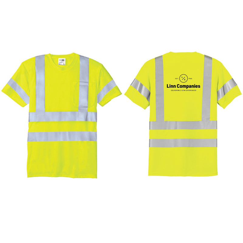 LINN MAINT - CornerStone® - ANSI 107 Class 3 Short Sleeve Snag-Resistant Reflective T-Shirt-TShirts-Advanced Sportswear