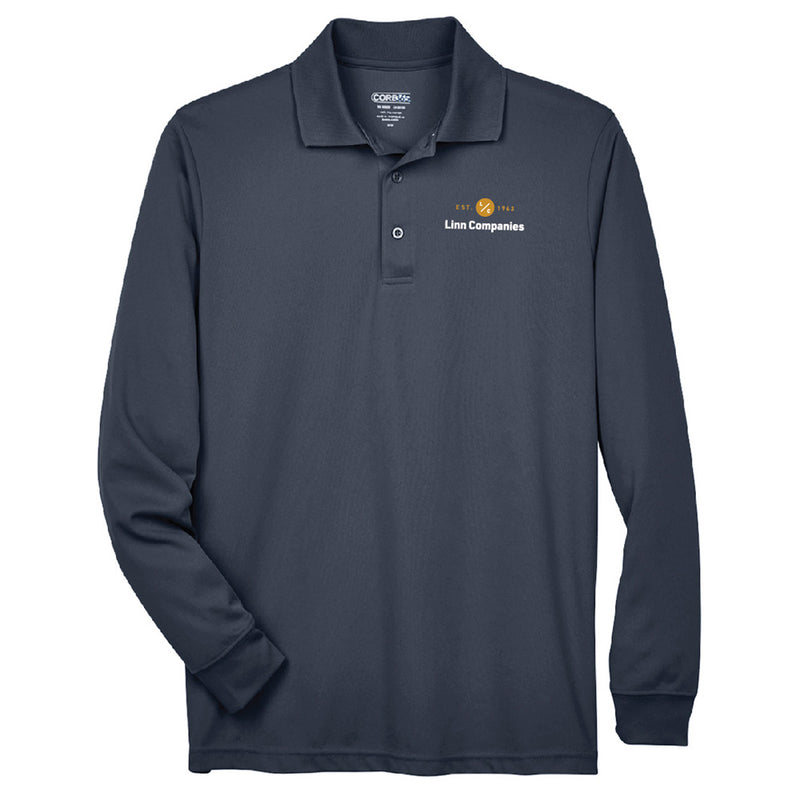 LINN MAINT - CORE 365 L/S PERFORMANCE POLO-Polos-Advanced Sportswear