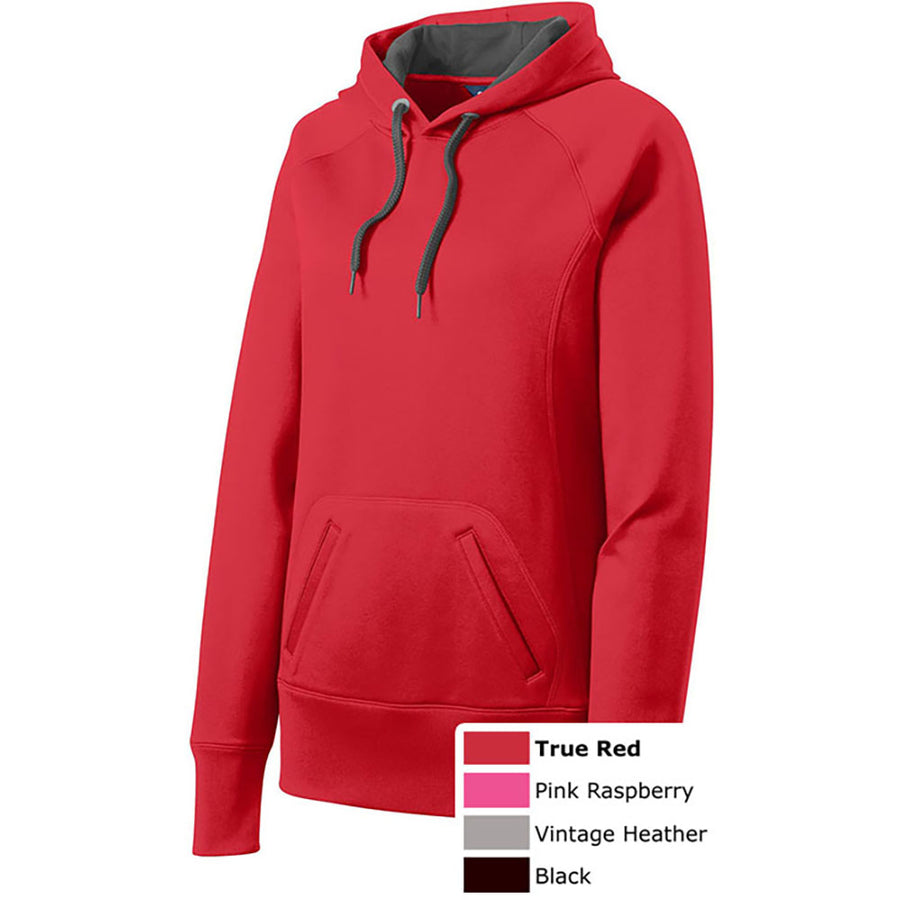 SPORT-TEK LADIES FLEECE HOODIE - Advanced Sportswear Inc, - Newport, MN