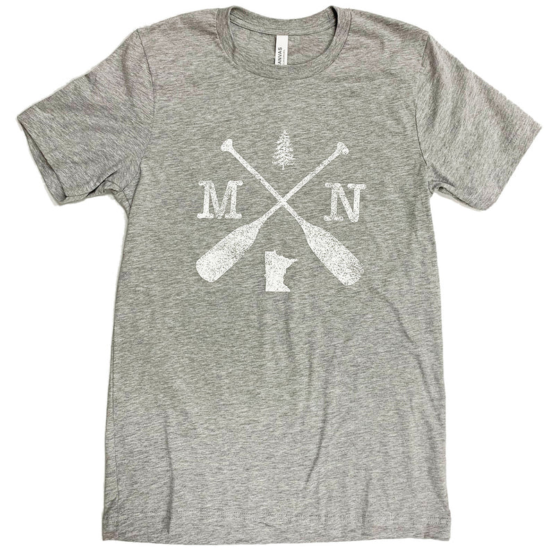 MN CROSSED OARS BELLA+CANVAS ® Unisex Jersey Short Sleeve Tee-T'shirt-Advanced Sportswear