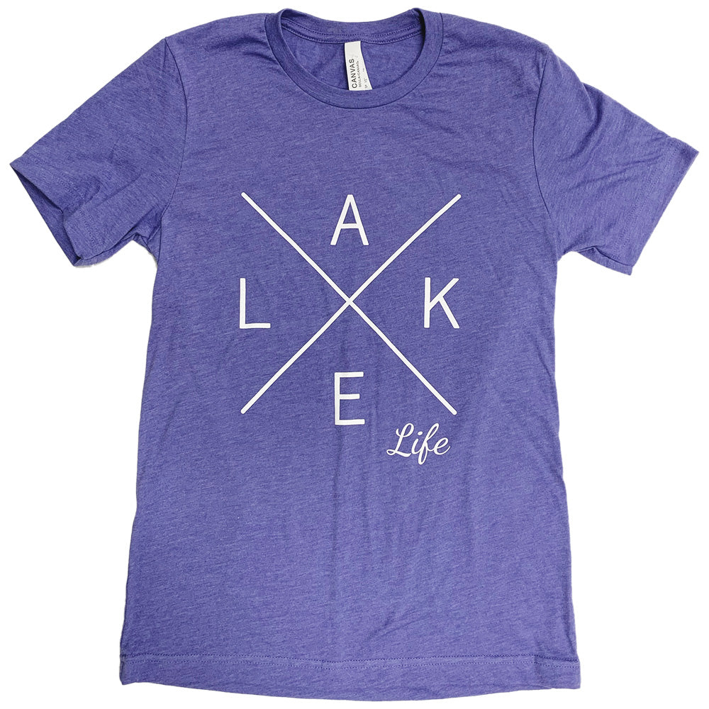 LAKE LIFE BELLA+CANVAS ® Unisex Heather CVC Short Sleeve Tee