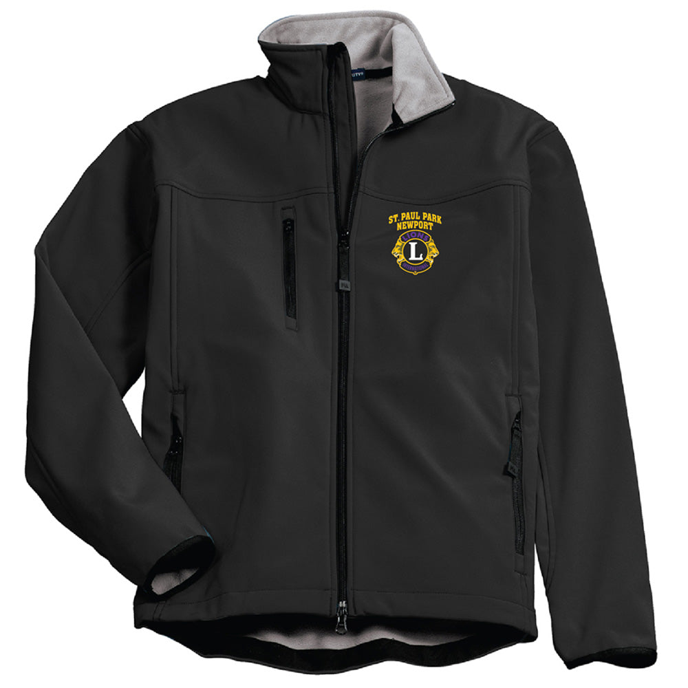 LIONS - Port Authority® Glacier® Soft Shell Jacket-Outerwear-Advanced Sportswear