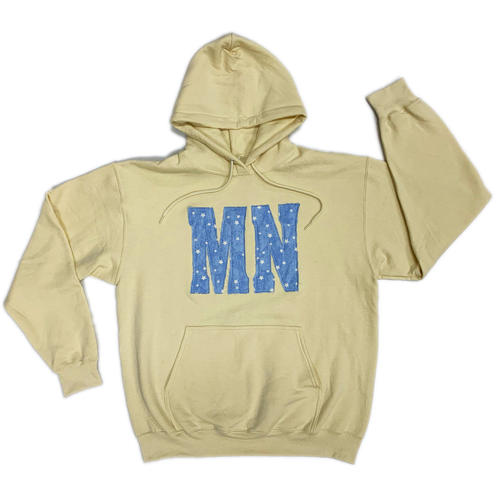 MN STAR HOODED SWEATSHIRT-Hoodies-Advanced Sportswear