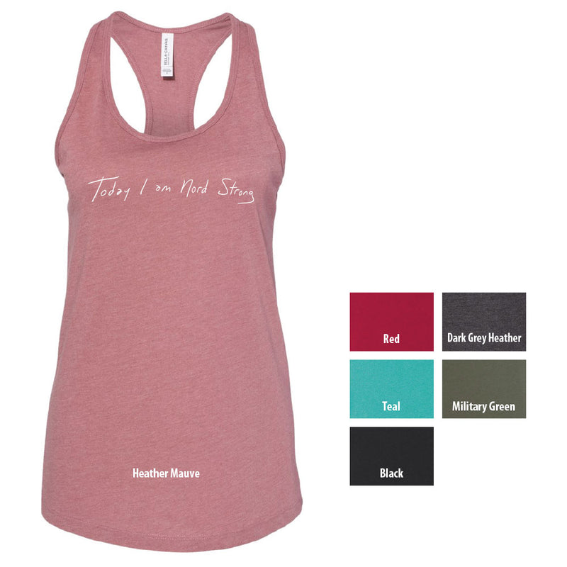 NORD STRONG BELLA+CANVAS ® Women's Jersey Racerback Tank-Tank-Advanced Sportswear